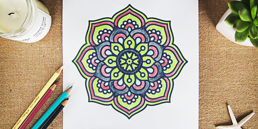 Mandala A Colorier 1 Goodie Mood
