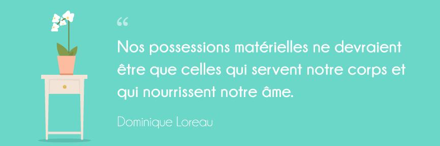 citation l'art de la simplicité Dominique Loreau