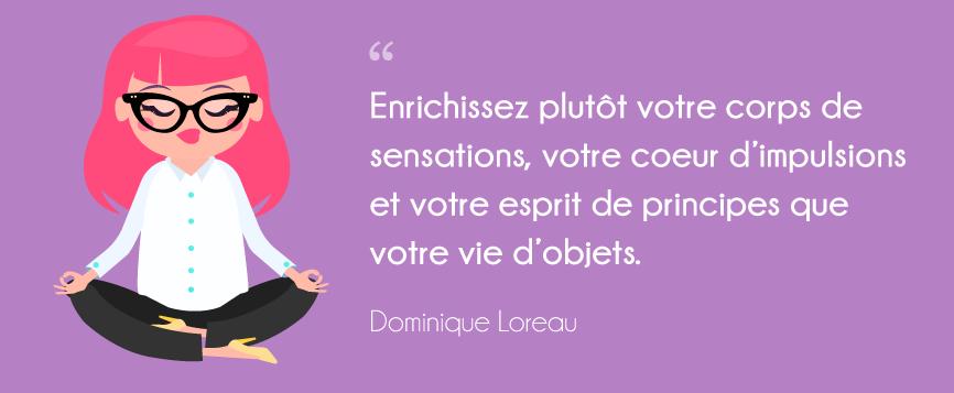 L'art de la simplicité Dominique Loreau livre de développement personnel 7