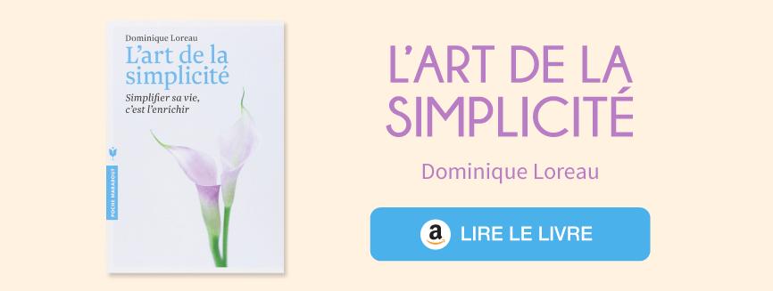 Acheter l'art de la simplicité Dominique Loreau