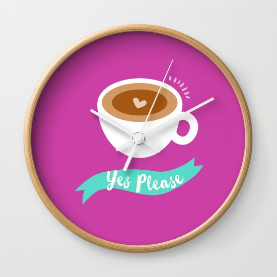 clocks coffee