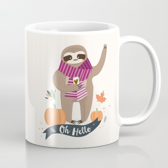 goodie mood tasse sloth paresseux