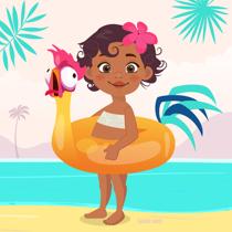 moana vaiana illustration shop