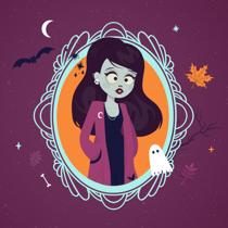 illustration-zombie-girl-society6