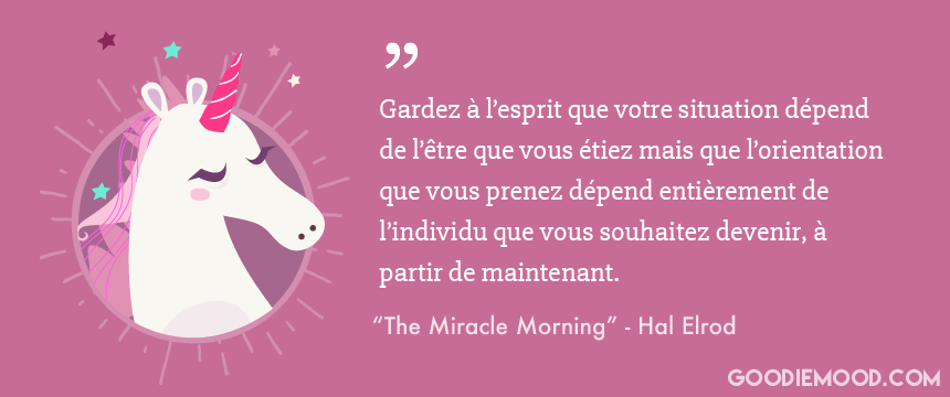 Citation de Hal Elrod - Miracle Morning