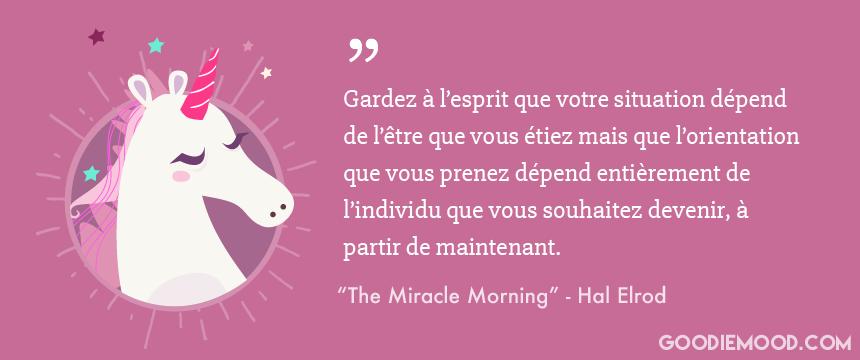 Citation de Hal Elrod - Miracle Morning