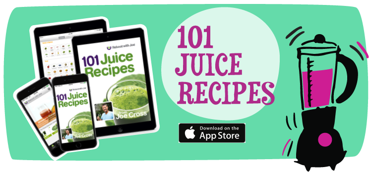 reboot with joe cross app juicing