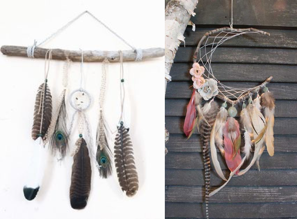 dreamcatcher diy feather