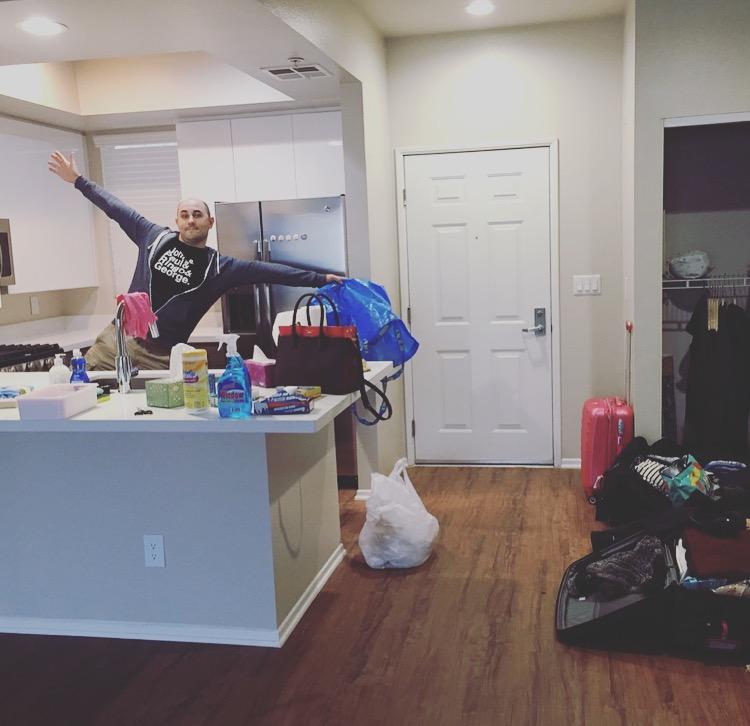 nouvel appartement à Los Angeles