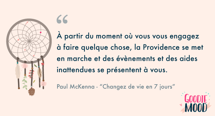 citation loi de l'attraction - Paul McKenna 2