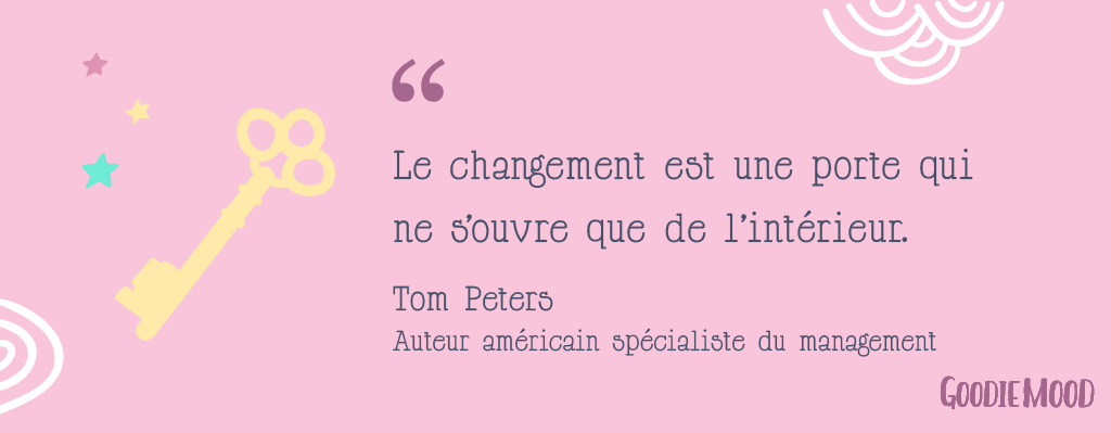 citation tom peters sur le changement