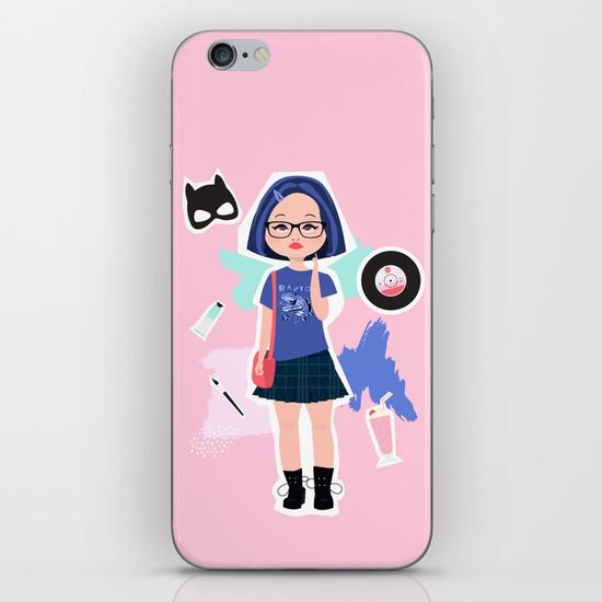 enid ghost world fan art society 6 phone case