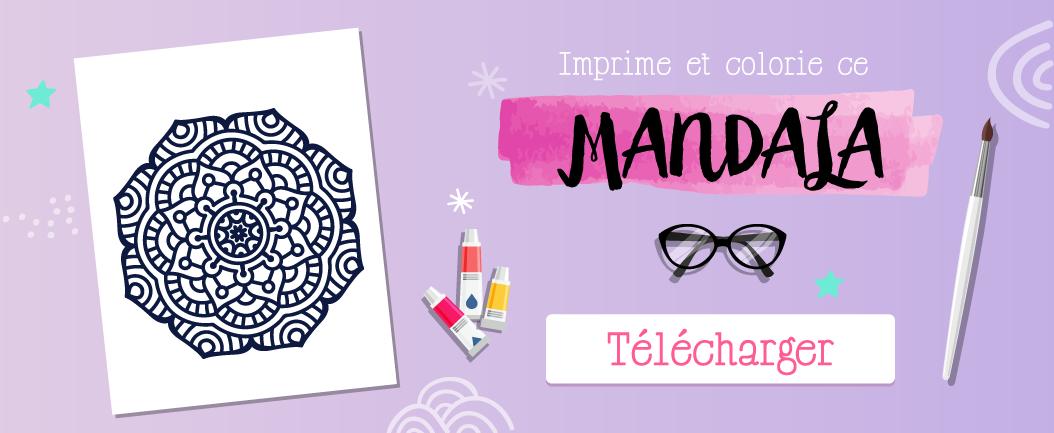 goodie mood blog imprimer mandala numero 2