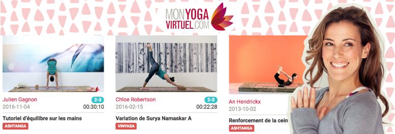mon yoga virtuel remise en forme