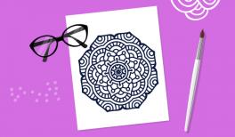 goodie mood creativite bog mandala coloriage zen