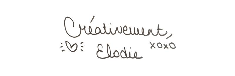 creativement elodie