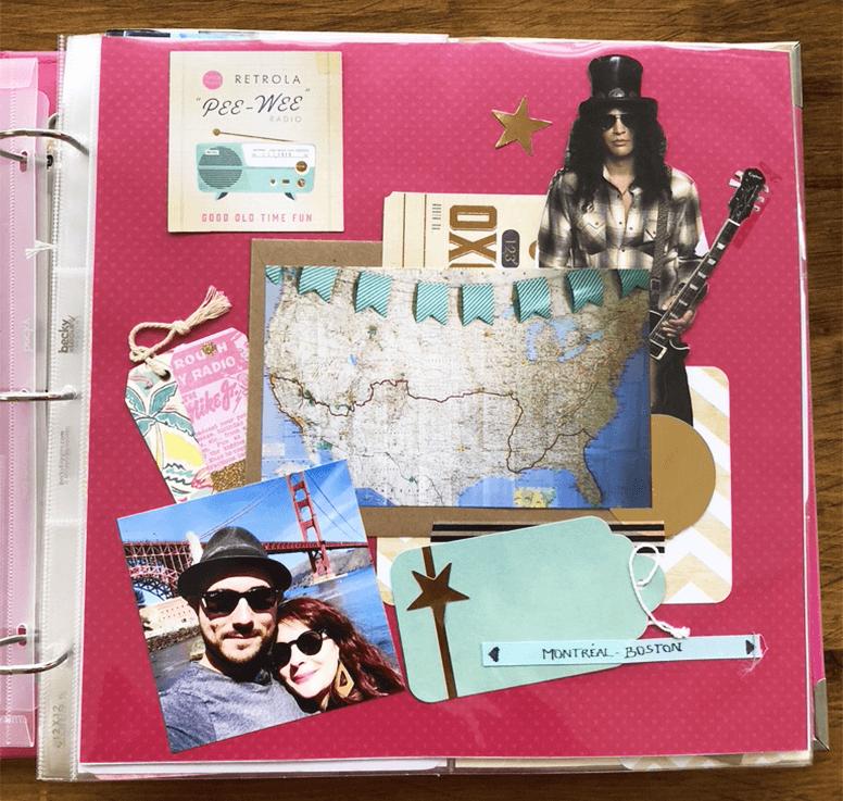 Projectlife : album photo scrapbooking 2