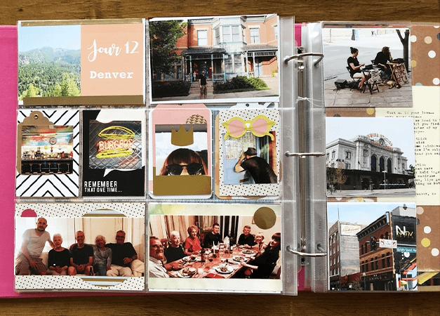 Projectlife : album photo scrapbooking 16