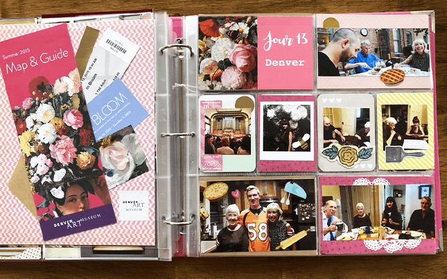 Projectlife : album photo scrapbooking 18