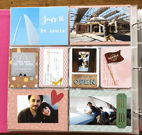 Projectlife : album photo scrapbooking 21