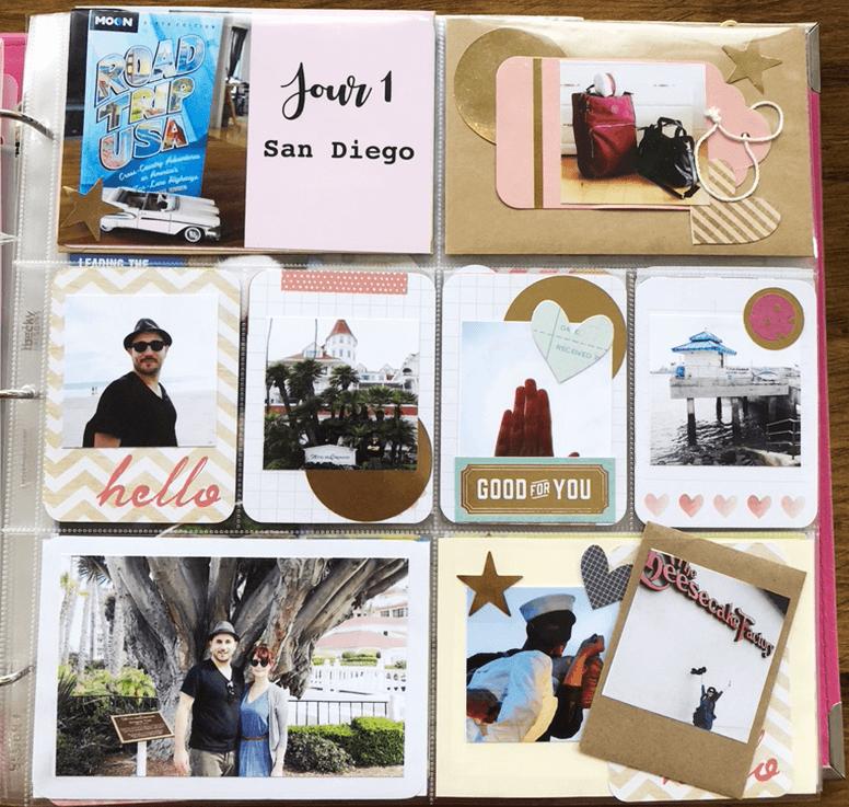 Projectlife : album photo scrapbooking 3