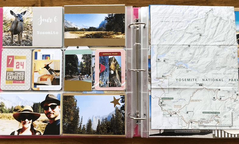 Projectlife : album photo scrapbooking 8