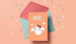 cartes d'halloween gratuites à telecharger et imprimer
