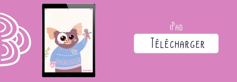 Fond d'écran / Wallpaper-decembre-2017-guizmo-pour tablette