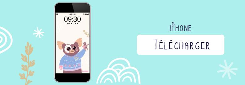 Fond d'écran / Wallpaper-decembre-2017-guizmo-pour téléphone portable