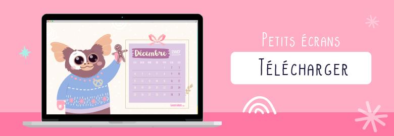 Fond d'écran / Wallpaper-decembre-2017-guizmo-pour ordinateur portable