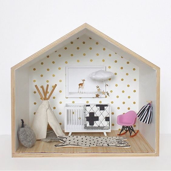DIY chambre de poupée miniature