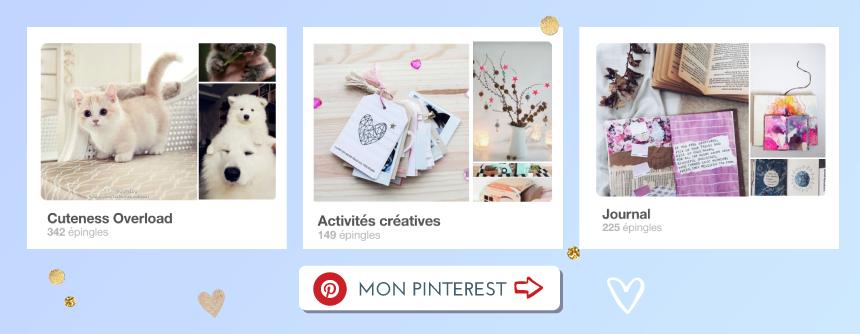 Abonne toi à mon Pinterest- Goodie Mood Bouton