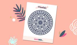 coloriage Mandala gratuit à imprimer