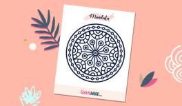 Imprime et colorie ton mandala gratuit ! Sur Goodie Mood