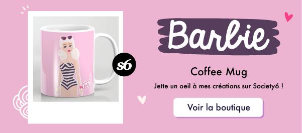Goodie Mood sur Society6 : Mug Barbie