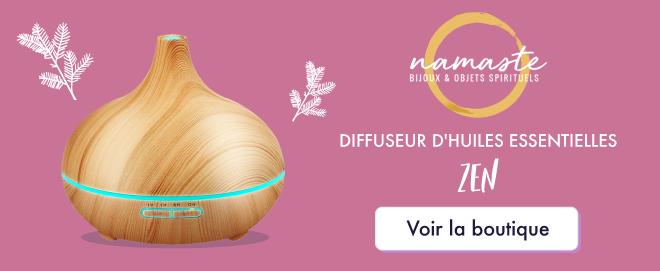 diffuseur d'huiles essentielles zen - Boutique Namasté