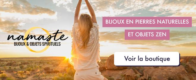 Bijoux en pierres naturelles - Boutique Namasté