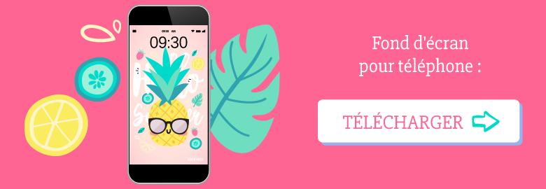 🍍Télécharge gratuitement ton #wallpaper pour juin 2018 pour ton téléphone, avec Anna l'ananas qui est prête pour l'été ! Sur ⭐️Goodie Mood, le blog feel good et créativité #wallpaper #calendrier #juin #hellosummer #ete #gratuit #printable #goodie #ananas #illustration