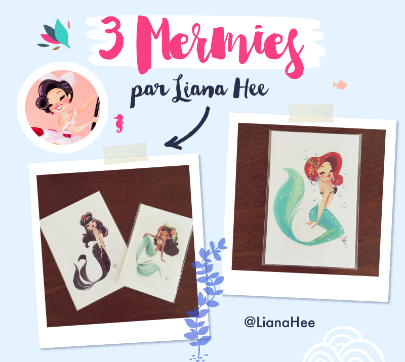 Mermies by Liana Hee - Goodie Mood - Merci pour les 50 cafés via le service de don KO-FI !