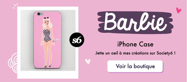 Goodie Mood - Society6 - Barbie iPhone Case