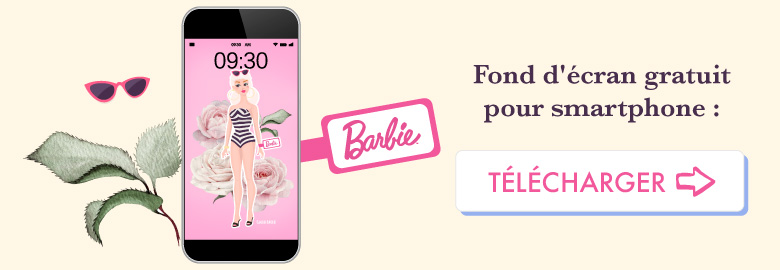 💗 Télécharge gratuitement ton wallpaper BARBIE pour août 2018 pour ton smartphone ! ⭐️ Sur Goodie Mood, le blog Feel Good et Créativité #Barbie #poupee #doll #illustration #dessin #vector #designGraphique #wallpaper #calendrier #aout #rose #fleur #cute #blog #gratuit #goodie #cadeau #inspiration #sourire #vintage #collage #composition