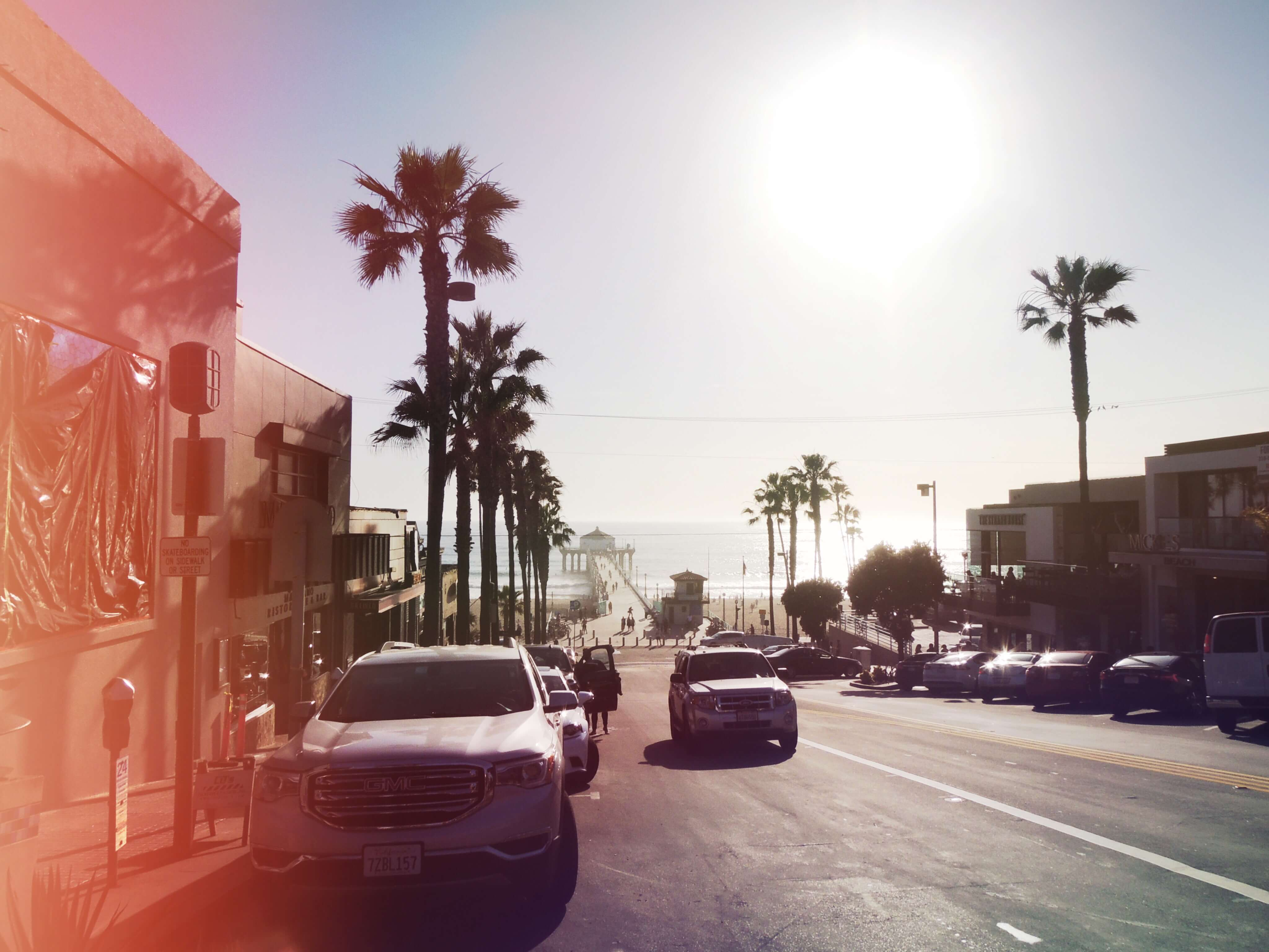 Manhattan Beach 🎬 Mes 10 endroits préférés à Los Angeles. Carte des quartiers Los Angeles, sur Goodie Mood, le blog Feel Good et Créativité #losAngeles #expatlife #changerdevie #venice #santaMonica #theGrove #beverlyHills