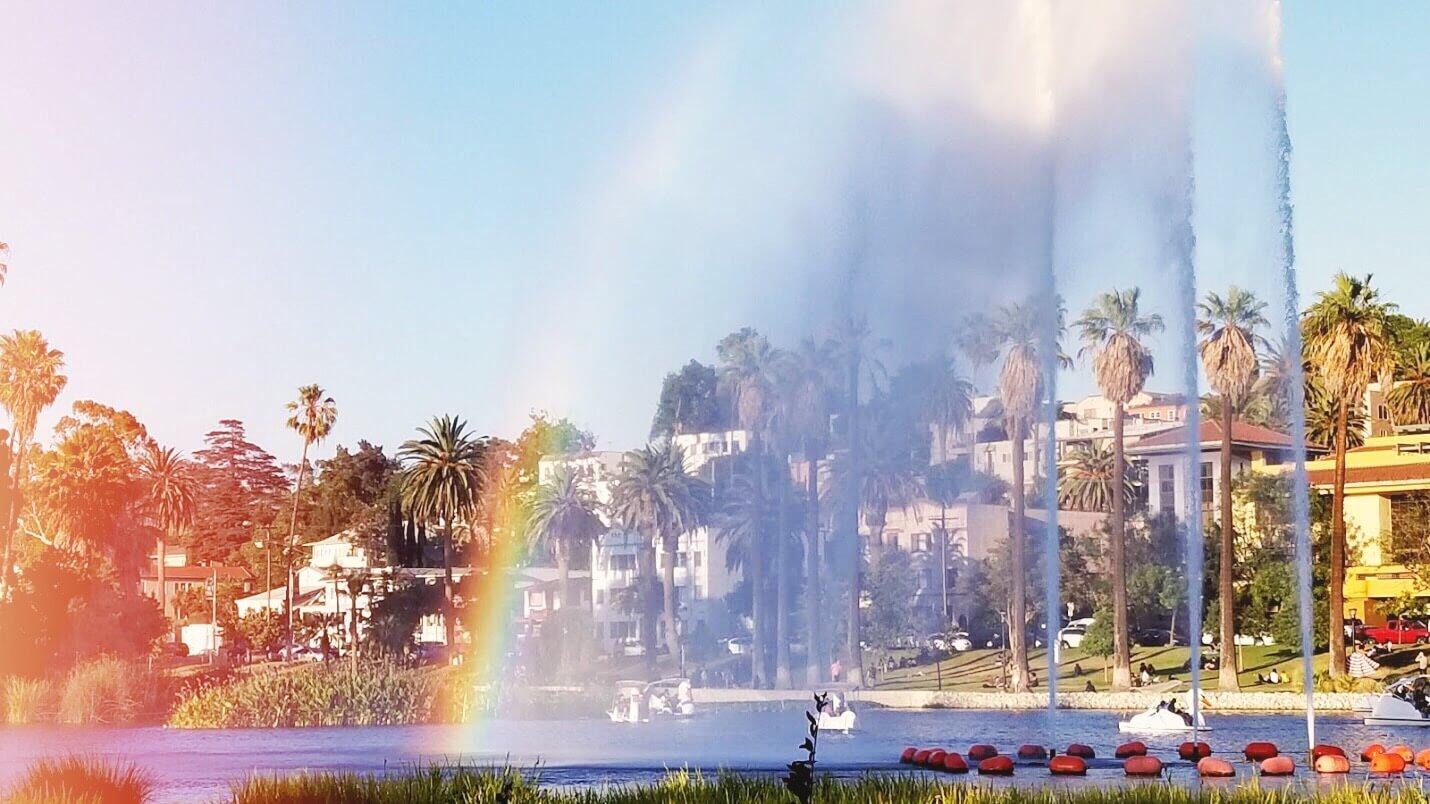 Echo Park 🎬 Mes 10 endroits préférés à Los Angeles. Carte des quartiers Los Angeles, sur Goodie Mood, le blog Feel Good et Créativité #losAngeles #expatlife #changerdevie #venice #santaMonica #theGrove #beverlyHills