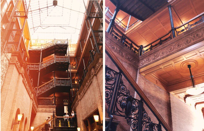 20 fun facts sur Los Angeles - Bradbury building 2