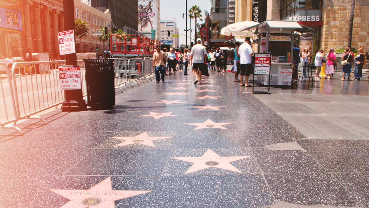 20 fun facts sur Los Angeles - Walk of Fame