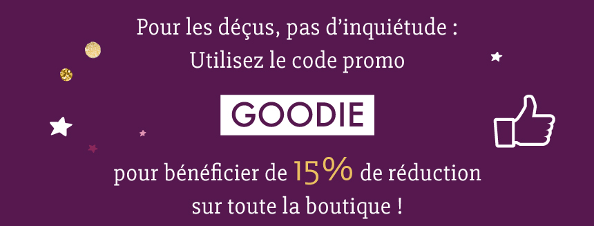 La boutique namasté : 15% de réduction sans minimum d'achat!