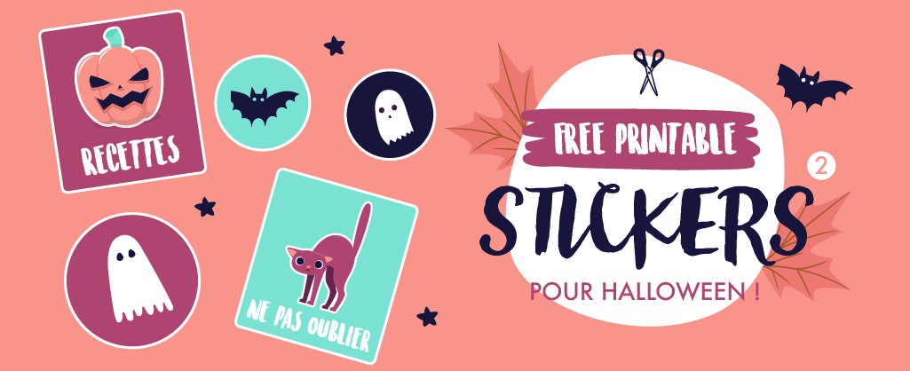 🎃 Imprime et découpe ces petites décorations pour ton Bullet Journal aux couleurs d'Halloween ! 🖤 Sur Goodie Mood, le blog Feel Good et Créativité 🌙 #BulletJournal #Halloween #freePrintable #cadeau #goodie #gratuit #journal #cute #citrouille #stickers #decoration #bulletjournalideas #papeterie #DIY