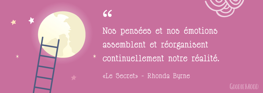 "citation sur la loi d'attraction - ""Le Secret"" de Rhonda Byrne"