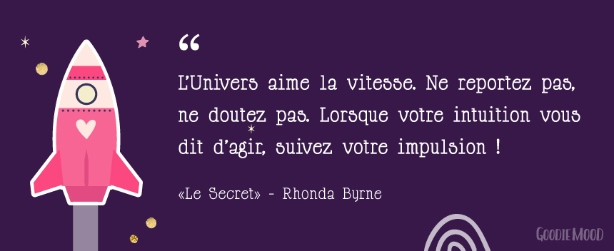 "citation sur la loi d'attraction - ""Le Secret"" de Rhonda Byrne 2"