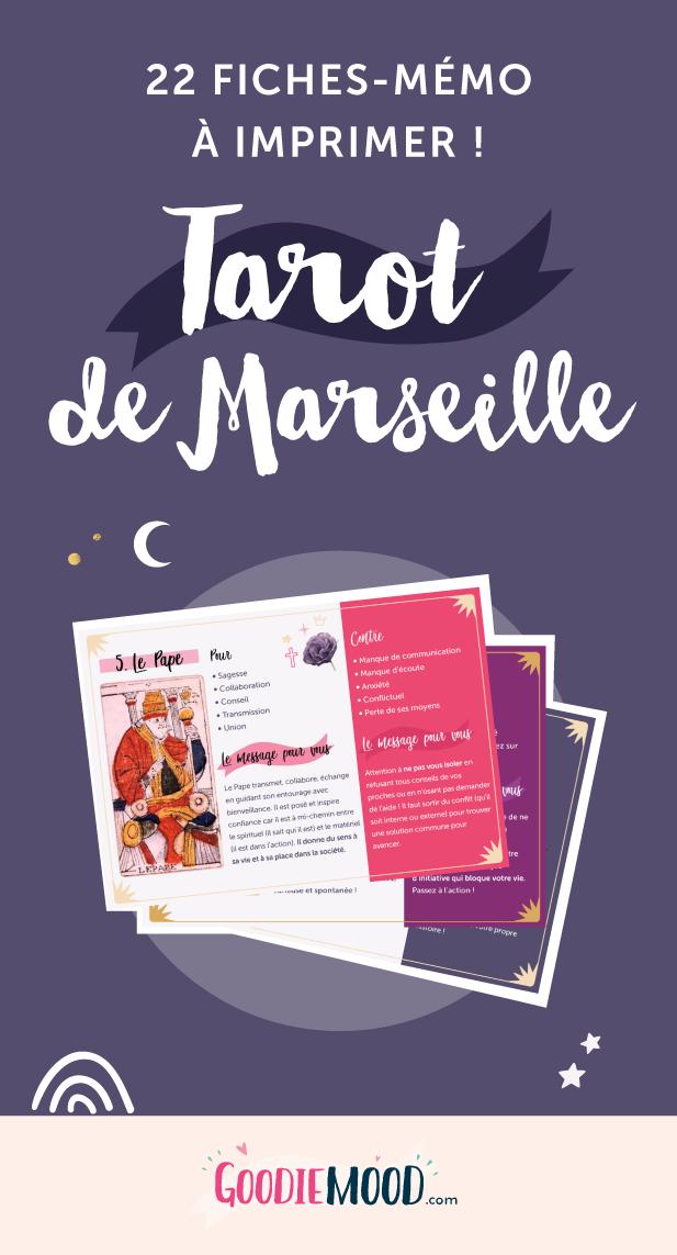 ⭐️ Imprimez ces 22 fiches sur la signification des cartes de Tarot de Marseille 💗 Sur Goodie Mood, le blog feel good et créativité !🍒 #tarot #cartomancie #signification #cartes #printable #goodie #gratuit #cadeau #voyance #medium #esoterisme #mystique #tirage #bien-être #intuition #inspiration #exposé #TarotDeMarseille #croissancePersonnelle #developpementPersonnel